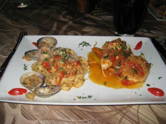 Casa Teresa Ristorante Italiano :                                                                         My delicous dinner