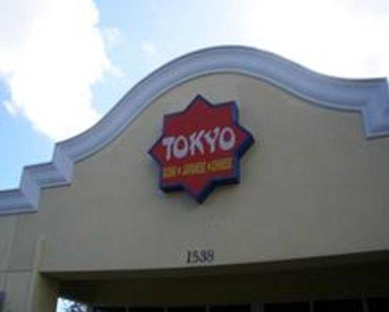 Tokyo Sushi Bar-Hibachi:                                     sign