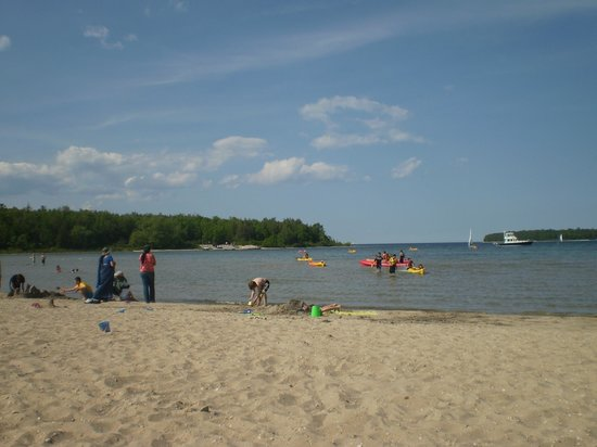 Nicolet Bay Beach Peninsula State Park Picture Of