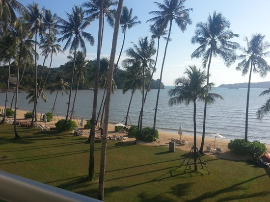 Phuket Panwa Beachfront Resort:                                     View from balcony