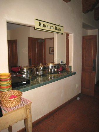 Old Santa Fe Inn: Burrito Bar
