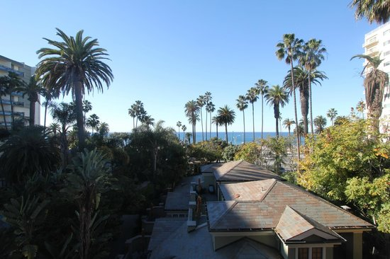 Fairmont Miramar Hotel & Bungalows:                   Ocean view from the room