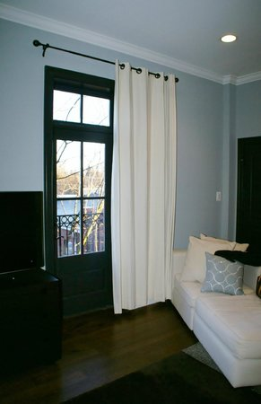 Suites at 249: Balcony door