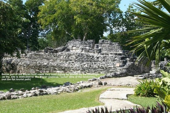 Cozumel (เกาะโกซูเมล), เม็กซิโก: San Gervasio Ruins