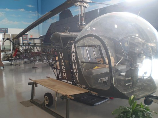Fargo Air Museum:                   M.A.S.H. Helocopter