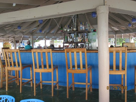 Negril Tree House Resort:                                     bar