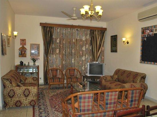 Adarsh Residency Bed & Breakfast: Lobby