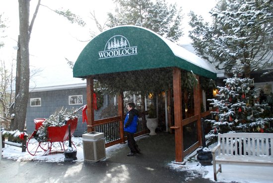 Woodloch Pines Resort:                   Main Lodge