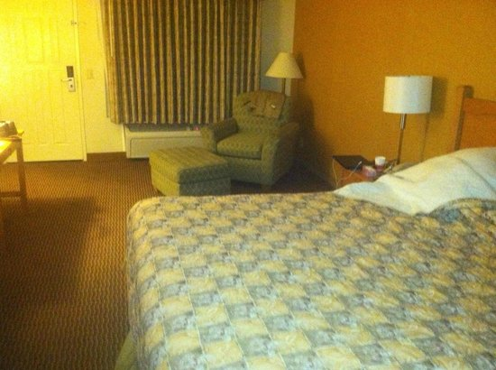 Ramada Costa Mesa/Newport Beach: Nice sized room for the price