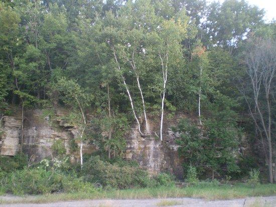 High Cliff State Park:                   Niagara Escarpment