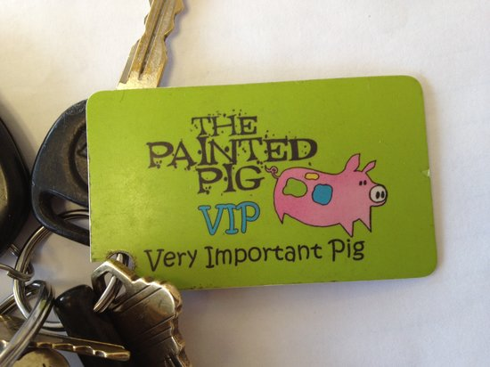 The Painted Pig: VIP Loyalty Card