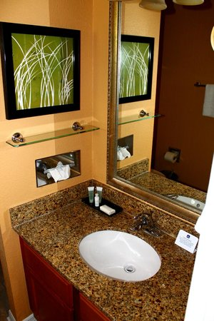 BEST WESTERN PREMIER Saratoga Resort Villas: first floor bathroom