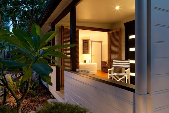 Cavvanbah Beach House: Private Terrace