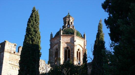 Monasterio de Santes Creus:                   la cúpula