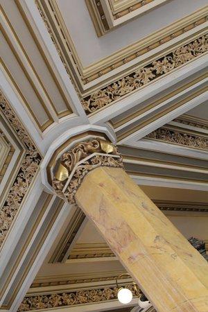 Palacio Postal: ceiling detail