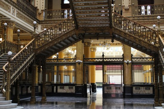 Palacio Postal: beautiful, well maintained structure