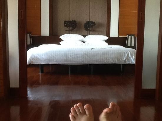Ayara Hilltops Resort and Spa: room 840 bed