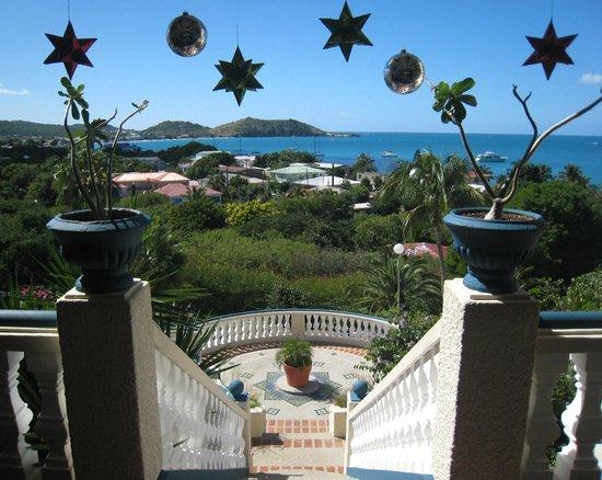 Hotel L'Esplanade: Lobby stairs