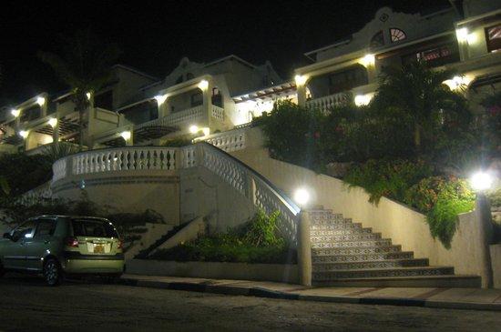 Hotel L'Esplanade: Nighttime view