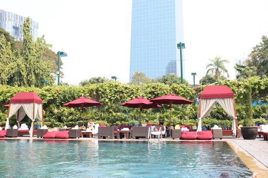 Park Hyatt Saigon:                                                                                           Pool a