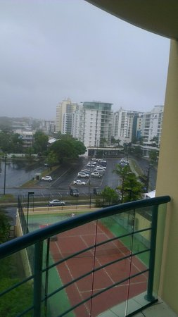 Landmark Resort:                   View from room 684
