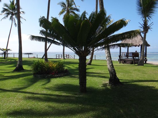 Fiji Hideaway Resort & Spa :                   View from our Oceanfront room