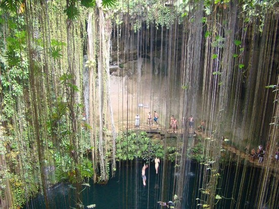 The Westin Lagunamar Ocean Resort:                   Cenote on trip from Chichen Itza