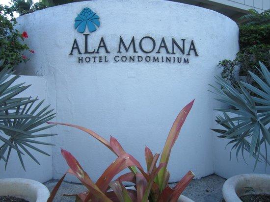Ala Moana Hotel by Mantra:                   ホテルの入り口