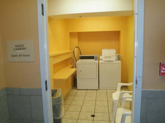 Quality Inn & Suites Beachfront:                   Laundry facility
