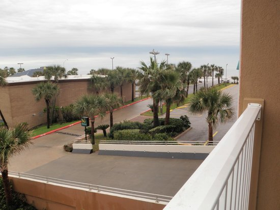 Quality Inn & Suites Galveston:                   Limited ocean view