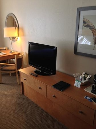 Comfort Inn Oklahoma City: TV area