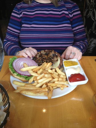 The St. Gregory Hotel:                   Lunch