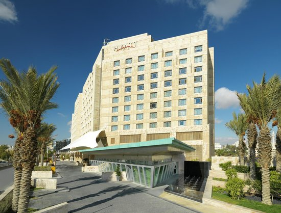 Grand Hyatt Amman Entrance