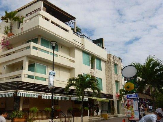 Hotel El Punto:                   Hotel Building