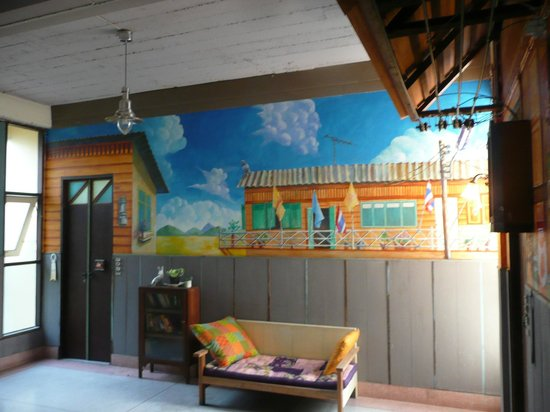 Phranakorn-Nornlen Hotel:                   Typical internal decor