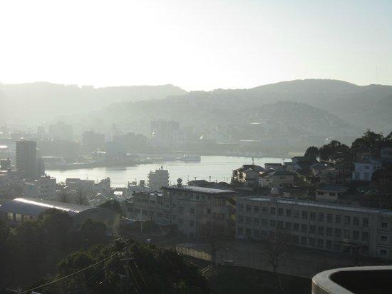 Hotel Amandi :                   ホテルからの眺め