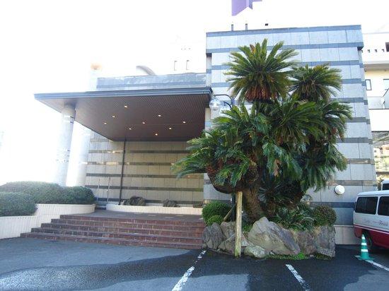 Hotel Amandi:                   玄関