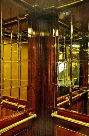 Conrad Istanbul Bosphorus:                   Inside the elevator
