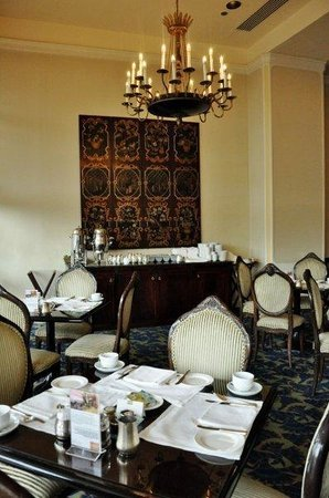Conrad Istanbul Bosphorus:                   Breakfast area
