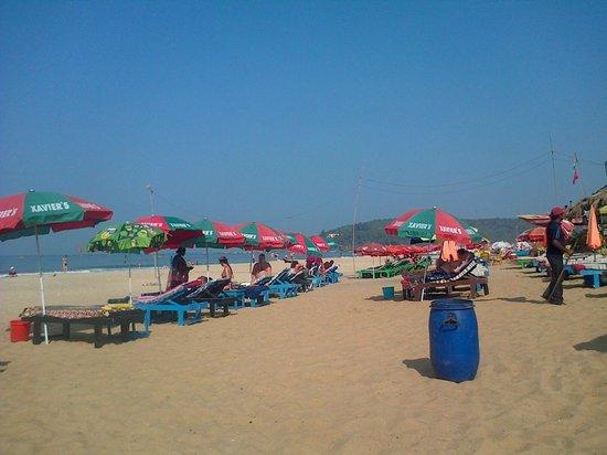 Baga Beach:                   3