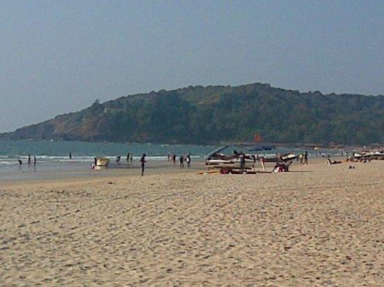 Baga Beach:                   5