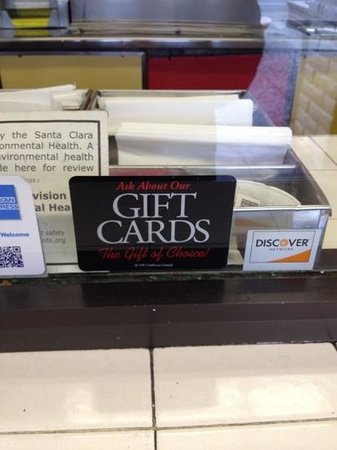Taco Bravo: gift cards