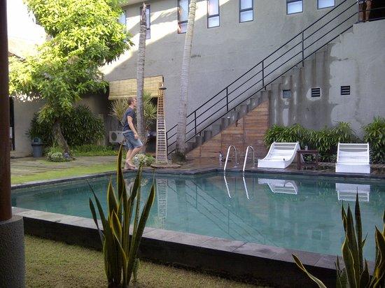 Kayun Hostel :                   Pool Side Room View