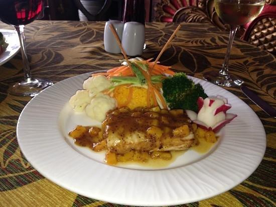 Jacks Bar & Grill:                   Mango Fish