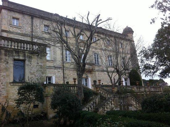 Le Château de Saint-Siffret :                   Le château