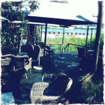 River Cafe: Outside Deck