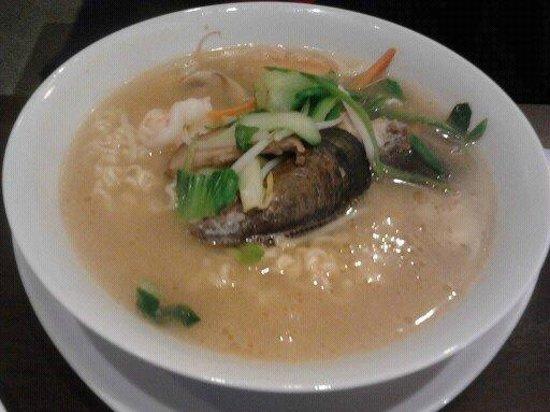 Tokori:                   Just soup