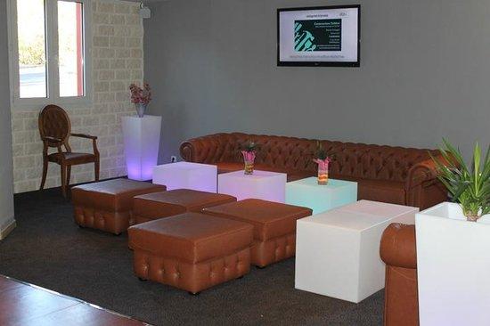 Hotel Le Mas de Grille : salon