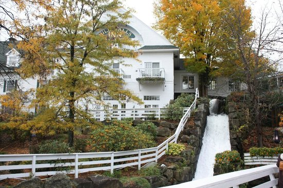 Mill Falls at the Lake:                   View of the fall
