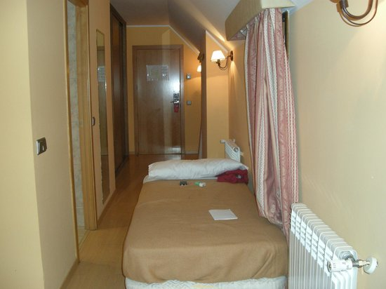 Ransol, อันดอร์รา:                   cama en pasillo